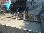 水叩き コンクリート打設:拡大画像4
