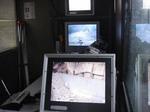 砂防堰堤無人配管コンクリート打設:拡大画像2