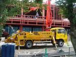 プツマイスター製コンクリートポンプ車『BSF20.07』出動!